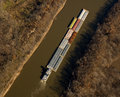 River barge Stock Photography