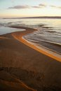 River Beach In The Autumn. Nat...