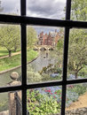 The River Cam From The Wren Library Royalty Free Stock Photo