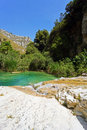 The river of cavagrande in sicily a beautiful place Royalty Free Stock Photos