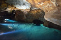 River Cave in Jenolan Caves Blue Mountains New South Wales Austr Royalty Free Stock Photo