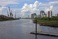 River Clyde, Glasgow Royalty Free Stock Photo