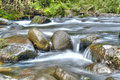 River flow / ecology scene HDR Royalty Free Stock Photo