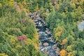 River flows within the mountain Stock Photo