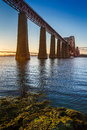 River and Forth Road Bridge Stock Photo