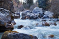 River in grigorevsky gorge chon ak suu is situated kilometers from cholpon ata city Royalty Free Stock Photography