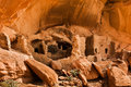 River house ruin close view of anasazi aka snake on cedar mesa Royalty Free Stock Photography