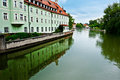 River Isar Royalty Free Stock Photo