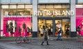 River Island shop front. UK Fashion store Royalty Free Stock Photo