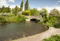 The River Itchen, Winchester Royalty Free Stock Photo