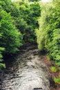 The River Kelvin Royalty Free Stock Photo
