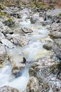 River Lainbach in Kochel am See in Bavaria