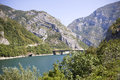 River in the mountains beatyfull bosnia and herzegovina Royalty Free Stock Images