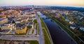 River Neris in Vilnius Royalty Free Stock Photo