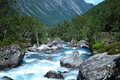River in Norway, Trollstigen Stock Photography