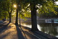 River Ouse in York Royalty Free Stock Photo