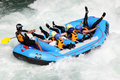 River rafting koboke tokusima japan august white water on the rapids of yosino on august in koboke canyon japan Royalty Free Stock Photos