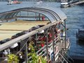 River Rhein view in Duesseldorf Royalty Free Stock Photo