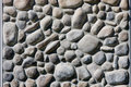 River Rock Wall Stock Photos