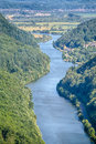 River Saar in Germany Royalty Free Stock Photo