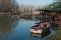 River sava island ada ciganlija serbian cyrillic а а циган ија pronounced ˈaːda tsiˈɡanlija colloquially shortened Stock Image