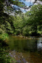 River Scene, Pont- Aven, Brittany Royalty Free Stock Photo