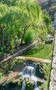 River scene taken on a visit to Cazorla, Spain Royalty Free Stock Photo