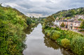 The river Severn at Ironbridge, Shropshire Royalty Free Stock Photo