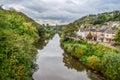 The river Severn at Ironbridge, Shropshire Royalty Free Stock Photo