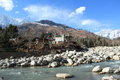 River Side In Manali Royalty Free Stock Photos