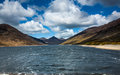 River in Silent Valley, County Down, Northern Ireland Royalty Free Stock Photo