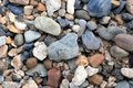 River stones close up Royalty Free Stock Photo