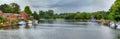 River Thames at Marlow Royalty Free Stock Photo