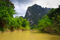 River trip in Khao Sok National Park Stock Photos