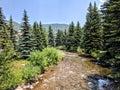 River In Vail Colorado