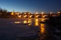 River Venta, Kuldiga, Latvia Royalty Free Stock Photo