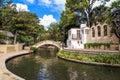 River Walk in San Antonio, Texas Royalty Free Stock Photo
