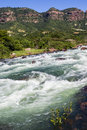 River Water Rapids Valley Royalty Free Stock Photo