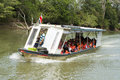 River Water Taxi Travel in Costa Rica Royalty Free Stock Photo