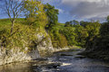 River Wharfe Royalty Free Stock Photography