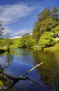 River Wharfe Royalty Free Stock Photo