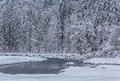 River in Winter Royalty Free Stock Photos