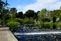 River Wye, Bakewell. Royalty Free Stock Photo