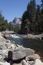 The river in Yosemite Royalty Free Stock Photos