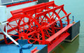 Riverboat Paddle Wheel Royalty Free Stock Photo