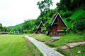 Riverkwai Cabin Tropical Resort in Kanchanaburi Stock Photography
