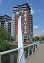 Riverside Apartments Royalty Free Stock Photo