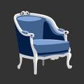 Riverside Baroque armchair