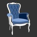 Riverside Baroque Royal armchair