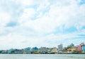 Riverside building landscape thailand bangkok Stock Photos